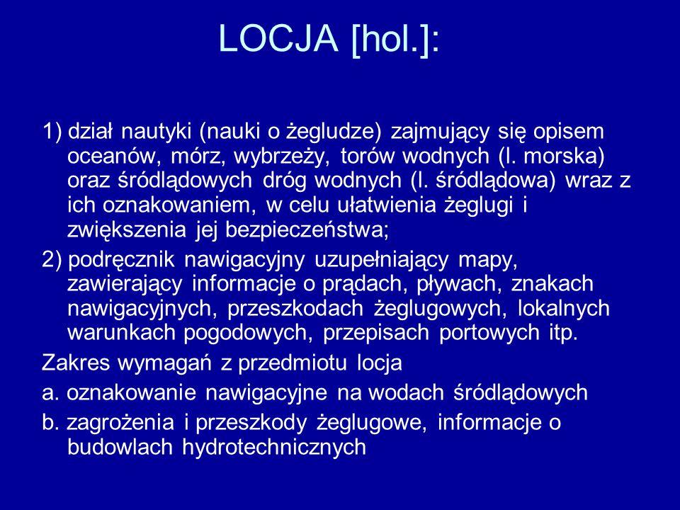 LOCJA [hol.]:
